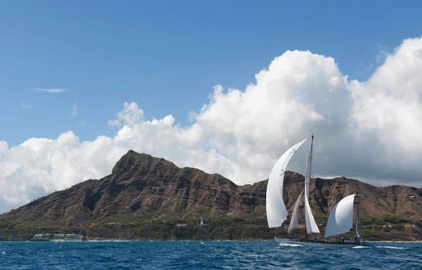 Off Diamond Head in 2013 (Doug Gifford/Ultimate Sailing)