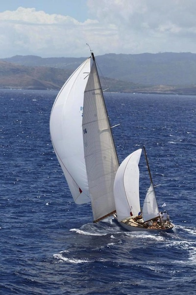 Dorade reaches to the finish in impressive style