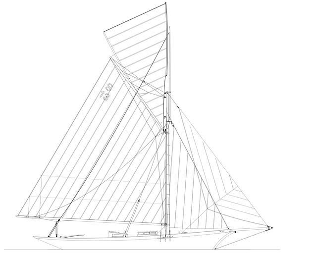 Aorere sail plan
