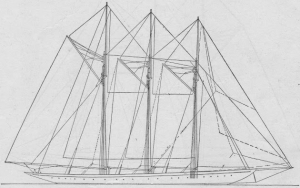 Atlantic sail plan