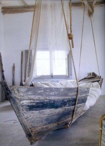 My Bed is a Boat  by Robert Louis Stevenson
