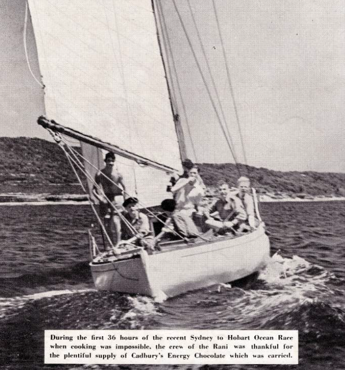 This advert found in the inaugural Seacraft magazine from 1946.