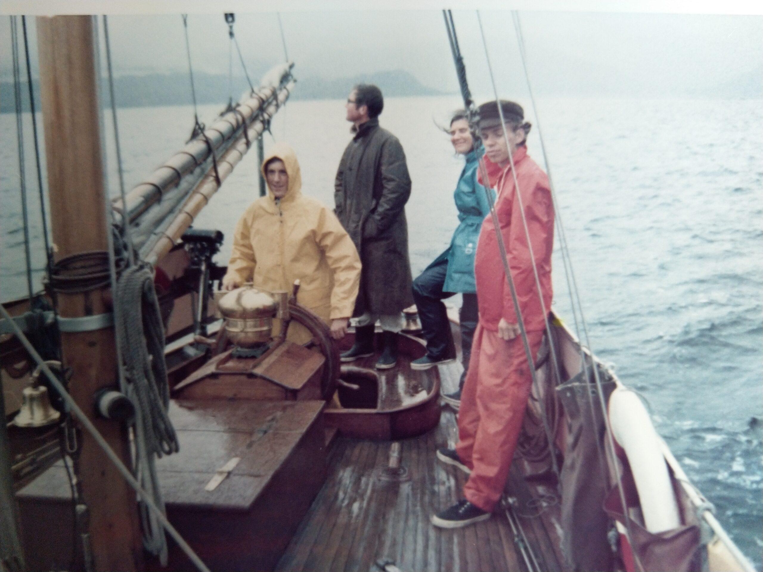 A 1973 cruise on board OWL