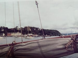 Yacht Owl in Tobermory