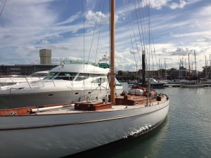 With new mast and rigging which returns her to the original Reimers fractional rig configuration, 2015