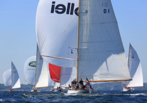 In persuit at the 12-Metre European Championships