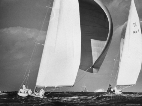 Gretel Weatherly Americas Cup 1962