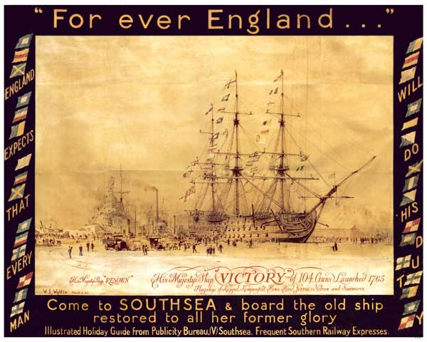 Come to Southsea and Board the Old Ship