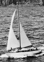 In 1959 shortly after the Sydney-Hobart race