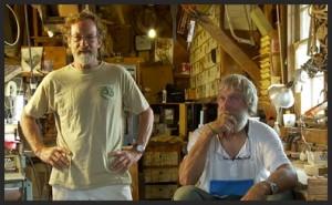 Ross Gannon & Nat Benjamin - owners of Gannon & Benjamin Marine Railway