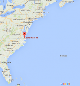 this along with millions of years of water runoff helped to form the beautiful chesapeake bay