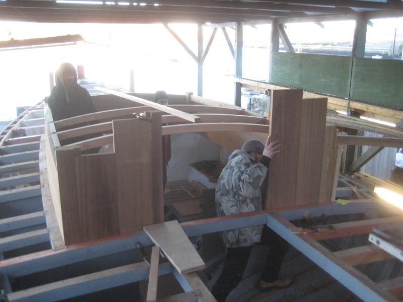 Progress in the restoration - January, 2016
