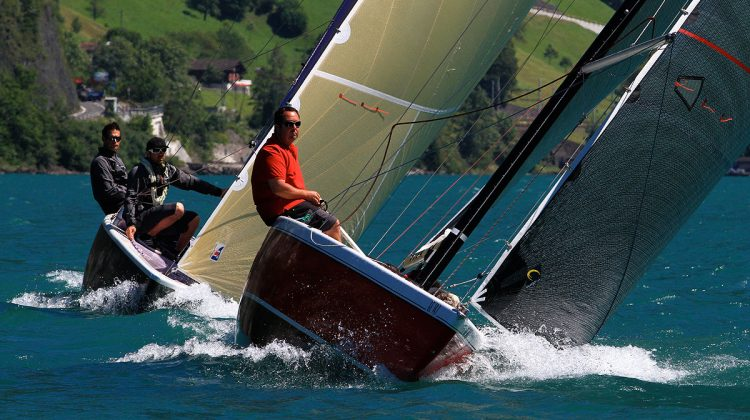 The 'Sixes' duel on Lake Lucerne