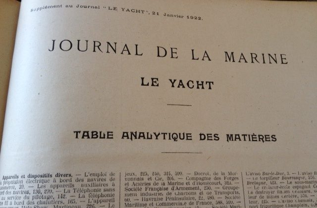 18 years of Le Yacht magazine for sale
