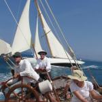 On board Shamrock V