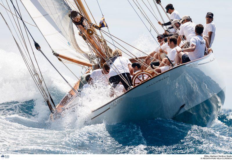 Hallowe'en at the Puig Vela Clàssica, Barcelona - classic yacht regattas