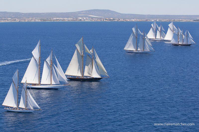 Schooner Day, Palma - Claire Matches - Classic Yacht regattas