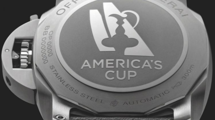 Panerai sponsors the America's Cup