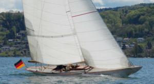 Emily sailing